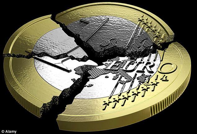 Euro broken