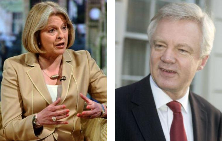 Theresa May David Davies