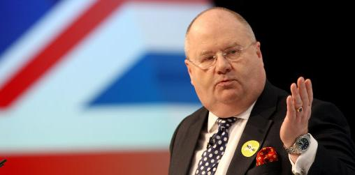Eric Pickles union flag