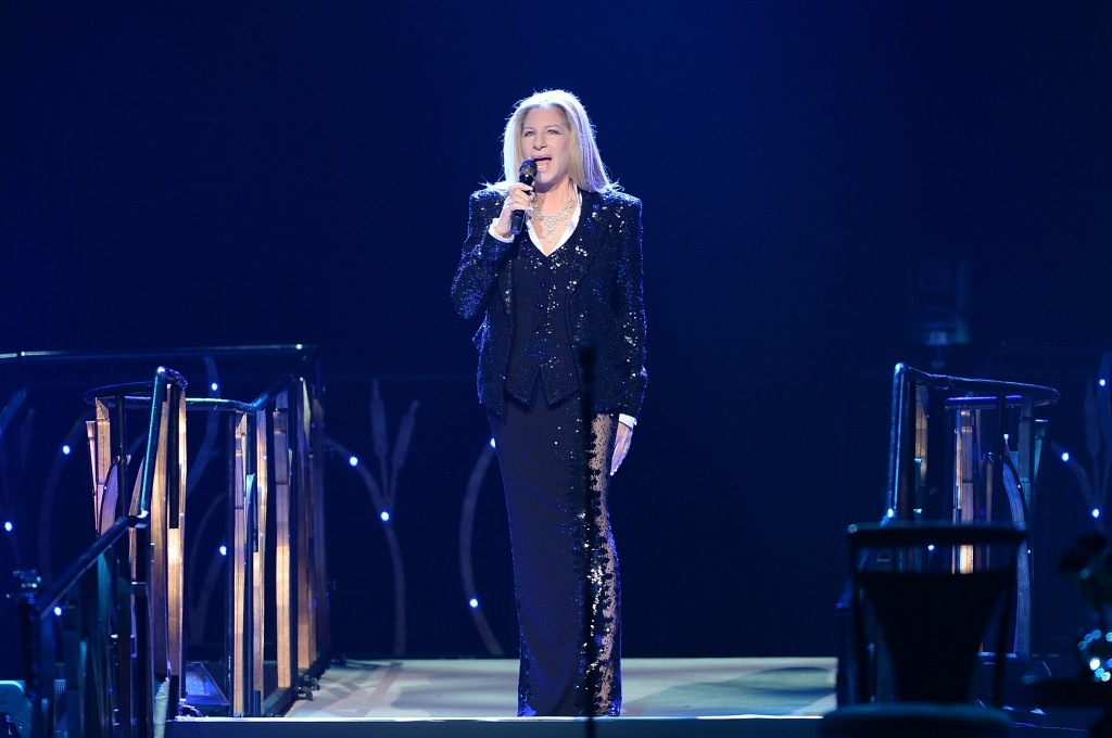 Barbra Streisand Plays O2 Arena
