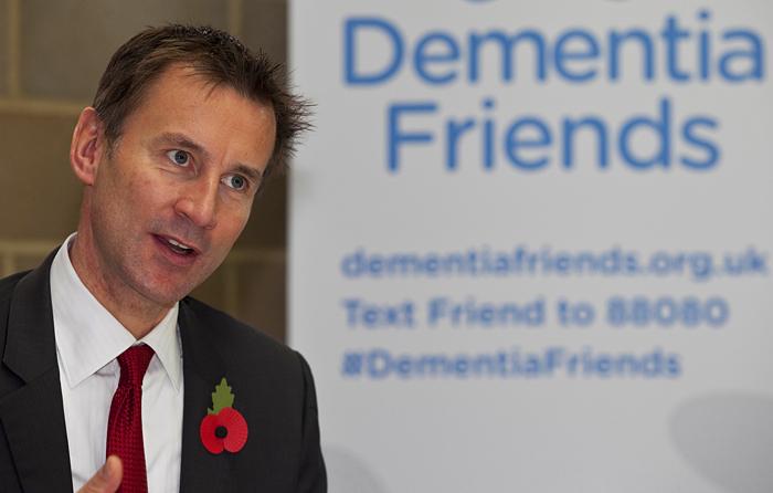 Jeremy Hunt dementia