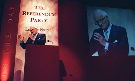 James Goldsmith Referendum party