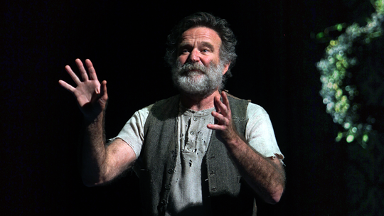 Robin Williams - imagined Lear