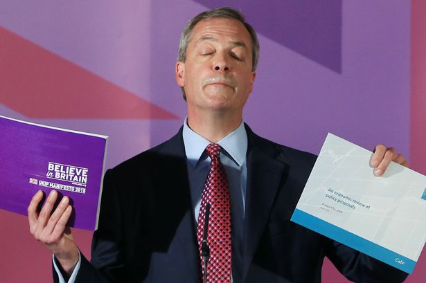 nigel farage - manifesto