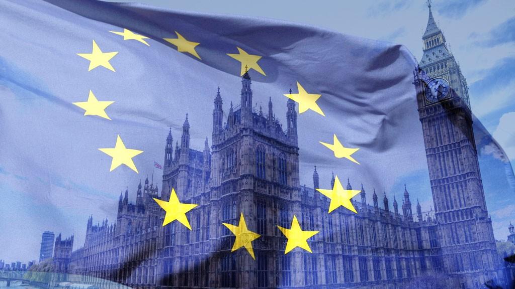 Parliament EU flag